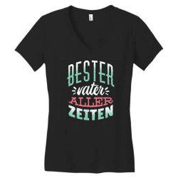 german best father Women's V-Neck T-Shirt | Artistshot