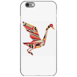 geometric shapes bird iPhone 6/6s Case   Artistshot