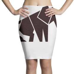geometric elephant Pencil Skirts | Artistshot
