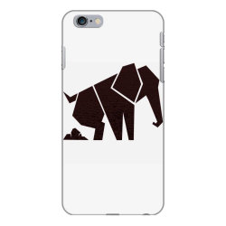 geometric elephant iPhone 6 Plus/6s Plus Case | Artistshot