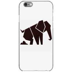 geometric elephant iPhone 6/6s Case | Artistshot