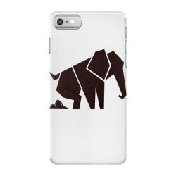 geometric elephant iPhone 7 Case | Artistshot