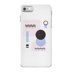 geometric shapes iPhone 7 Case | Artistshot