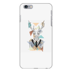 geometric deer iPhone 6 Plus/6s Plus Case | Artistshot