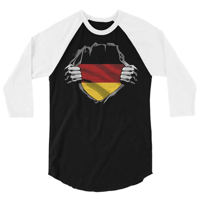 German Flag 3/4 Sleeve Shirt | Artistshot