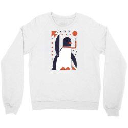 geometric penguin Crewneck Sweatshirt | Artistshot