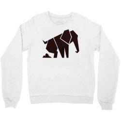 geometric elephant Crewneck Sweatshirt | Artistshot