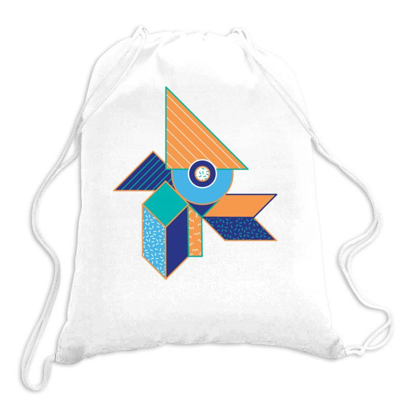 Geometrical Drawstring Bags | Artistshot