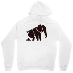 geometric elephant Unisex Hoodie | Artistshot