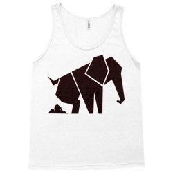 geometric elephant Tank Top | Artistshot