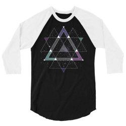 geometric space 3/4 Sleeve Shirt | Artistshot