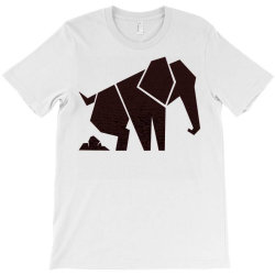 geometric elephant T-Shirt | Artistshot