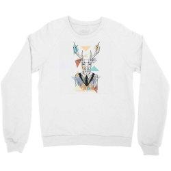 geometric deer Crewneck Sweatshirt | Artistshot