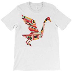 geometric shapes bird T-Shirt | Artistshot