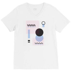 geometric shapes V-Neck Tee | Artistshot