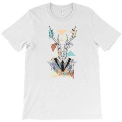 geometric deer T-Shirt | Artistshot