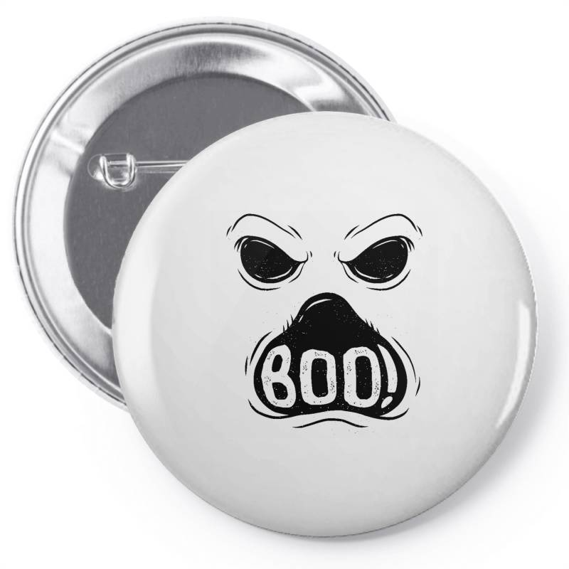 Ghost Boo Pin-back Button | Artistshot