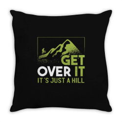 get over it Throw Pillow   Artistshot