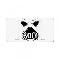 ghost boo License Plate | Artistshot