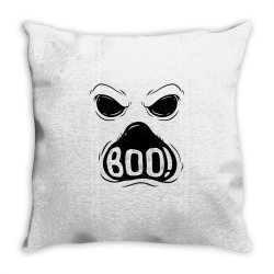 ghost boo Throw Pillow | Artistshot