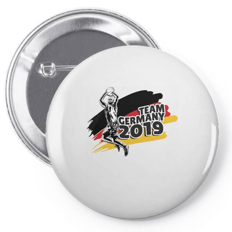 Germany Basketball Team Pin-back Button | Artistshot