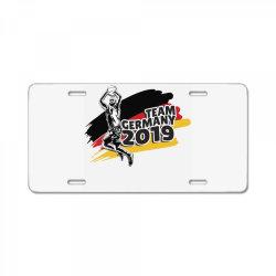 germany basketball team License Plate | Artistshot