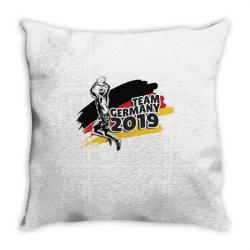 germany basketball team Throw Pillow | Artistshot