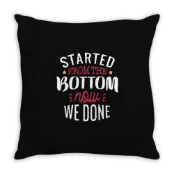 get it done Throw Pillow | Artistshot