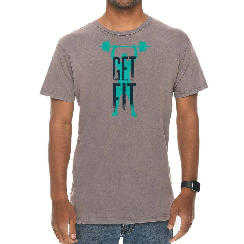 Get Fit Vintage T-shirt | Artistshot