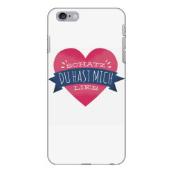 german heart love iPhone 6 Plus/6s Plus Case | Artistshot