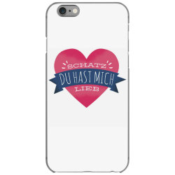 german heart love iPhone 6/6s Case | Artistshot