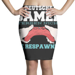 german gamer Pencil Skirts | Artistshot
