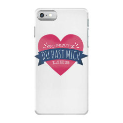 german heart love iPhone 7 Case | Artistshot