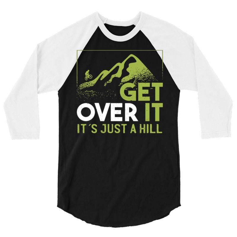 Get Over It 3/4 Sleeve Shirt | Artistshot