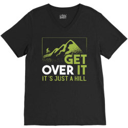 get over it V-Neck Tee | Artistshot