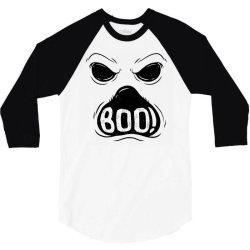 ghost boo 3/4 Sleeve Shirt | Artistshot