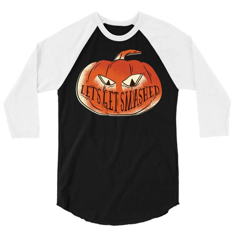 Get Smashed 3/4 Sleeve Shirt | Artistshot