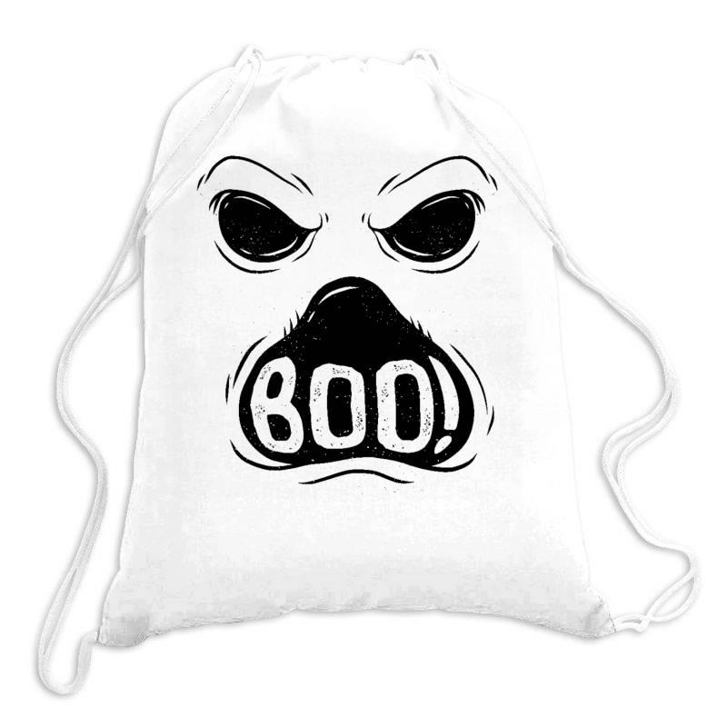 Ghost Boo Drawstring Bags | Artistshot