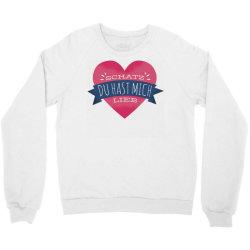 german heart love Crewneck Sweatshirt | Artistshot