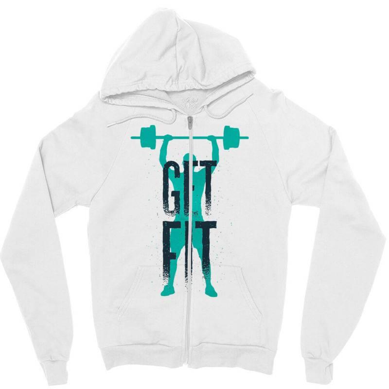 Get Fit Zipper Hoodie | Artistshot