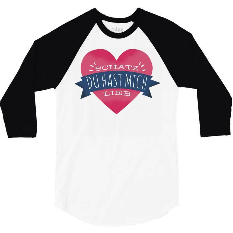 German Heart Love 3/4 Sleeve Shirt | Artistshot