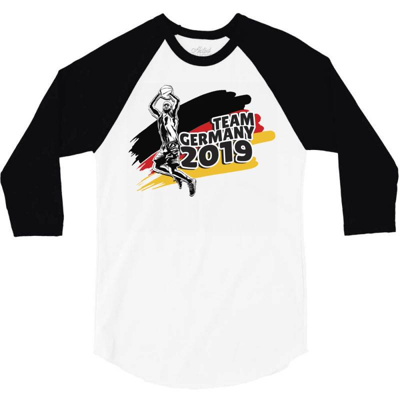 Germany Basketball Team 3/4 Sleeve Shirt   Artistshot