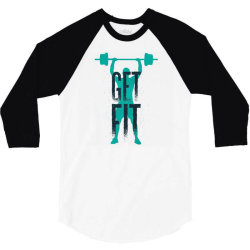 get fit 3/4 Sleeve Shirt | Artistshot