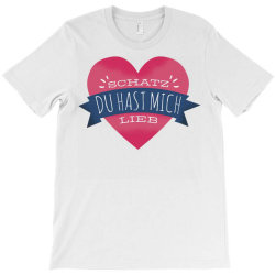 german heart love T-Shirt | Artistshot