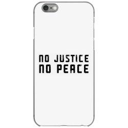 no justice no peace iPhone 6/6s Case | Artistshot