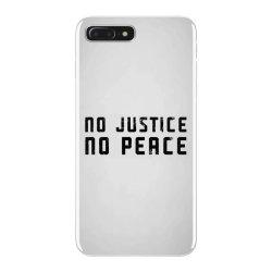 no justice no peace iPhone 7 Plus Case | Artistshot
