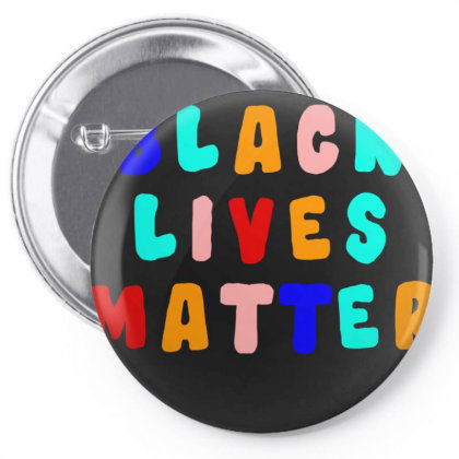 Blm Pin-back Button Designed By Black Box