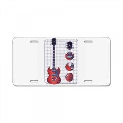 gibson guitar License Plate   Artistshot