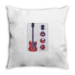 gibson guitar Throw Pillow   Artistshot
