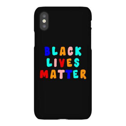 Blm Iphonex Case Designed By Black Box